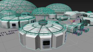 SIMOC 3D wireframe by Bryan Versteeg- Phase II