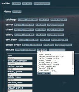SIMOC Agent Configuration Editor by Thomas Curry