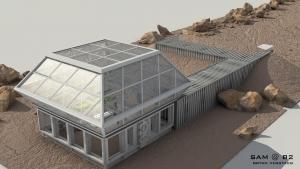 SAM exterior render by Bryan Versteeg