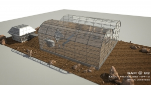 SAM Mars Yard render by Bryan Versteeg